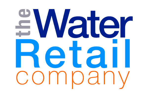 the water retail company colour logo