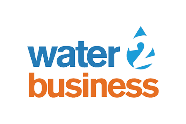 water 2 business colour logo