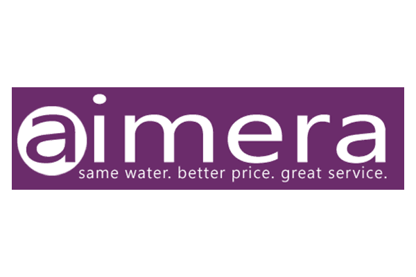 aimera, same water, better price, great service company logo