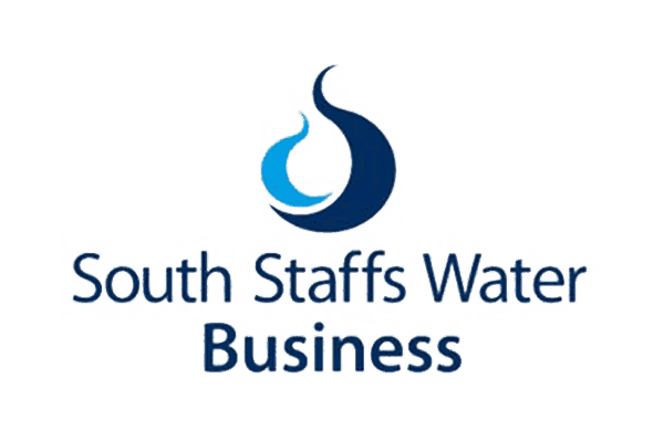 South staffs water business colour logo